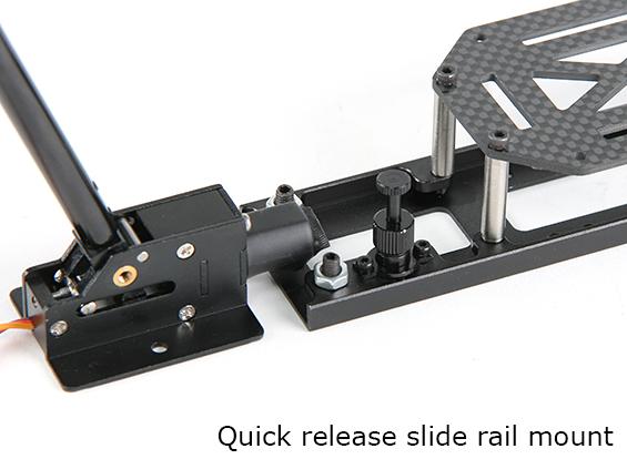 Quick release retractable legs for the Predator UAV drone
