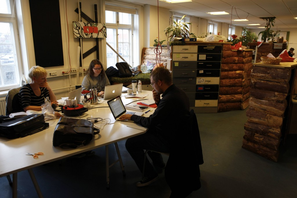 Flex coworking space Copenhagen Denmark