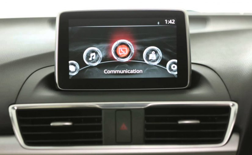 How to soft reset the Mazda Connect infotainment system